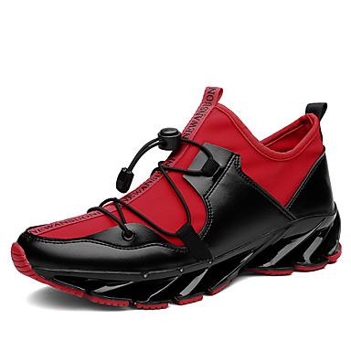 للرجال كانفا خريف / شتاء مريح أحذية رياضية الركض أسود / أسود وأبيض / أسود / أحمر