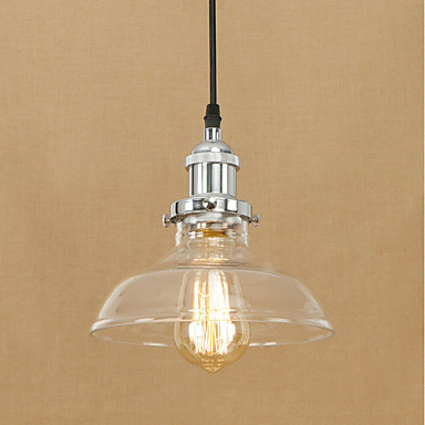 Retro Pendant Light Ambient Light - Bulb Included Eye Protection Designers, 200-240V 110-120V Bulb Included
