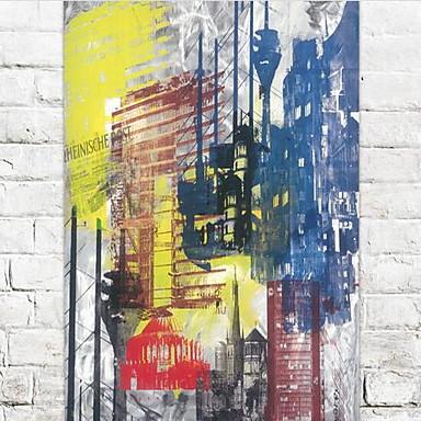 Wand-Dekor Hölzern Abstrakt Art déco/Retro Retro Wandkunst,1