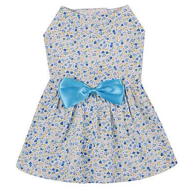 Hund Kleider Hundekleidung Lässig/Alltäglich Schleife Blau Rosa Kostüm Für Haustiere