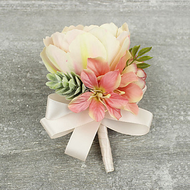 Wedding Flowers Boutonnieres Wedding Special Occasion Satin 4.33