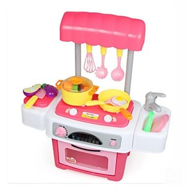 Játék konyha készletek / Étel / Szerepjátékok tettetés Műanyagok Lány Gyermek Ajándék