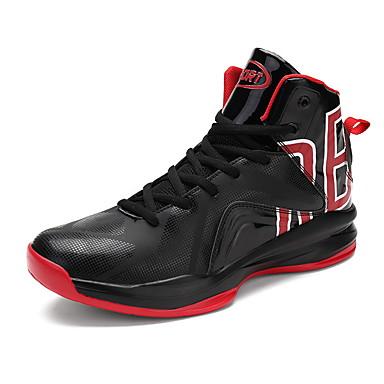 Herrn Schuhe PVC Leder Atmungsaktive Mesh TPU Winter Herbst Komfort Sportschuhe Basketball Booties / Stiefeletten Schnürsenkel für