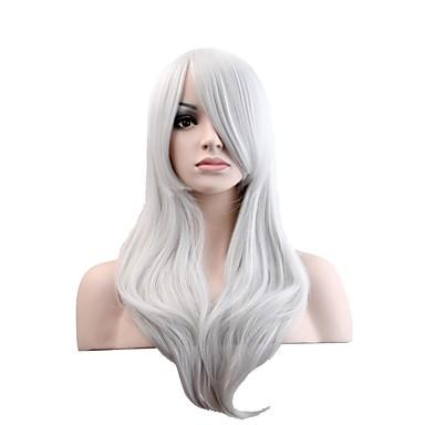 Jelmez parókák / Szintetikus parókák Természetes hullám Női Sapka nélküli Természetes paróka Hosszú Szintetikus haj