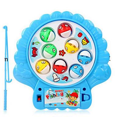 Magnetspielsachen Angeln Spielzeug Spielzeuge Kreisförmig Fische Kunststoff Kinder 1 Stücke