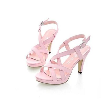Damen Schuhe PU Sommer Komfort Sandalen für Normal Rosa
