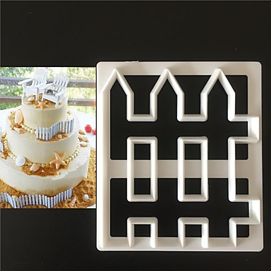 Bakeware tools Plastics Everyday Use Cake Molds 1pc