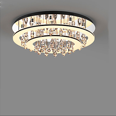 LED-Lampe kontrahiert und zeitgenössischen Kristall absorbieren Kuppel Licht rund um das Wohnzimmer Anwalt Schlafzimmer Ehe Zimmer Lichter