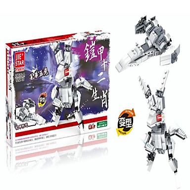 Robot / Építőkockák Harcos / Gép / Robot átalakítható / Klasszikus Fiú Ajándék