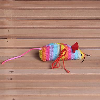 Plüsch-Spielzeug Maus Stoff Baumwolle Für Katze Hund Katzenspielsachen