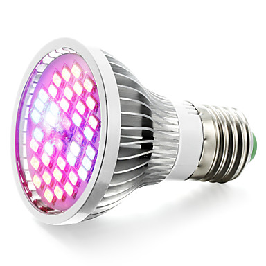 800-1200lm E27 Growing Light Bulb 40 Cuentas LED SMD 5730 Blanco Cálido UV (Luz Negra) Azul Rojo 85-265V