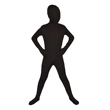 忍者 全身タイツ モーフスーツ 子供用 イベント/ホリデー ハロウィーンコスチューム ソリッド