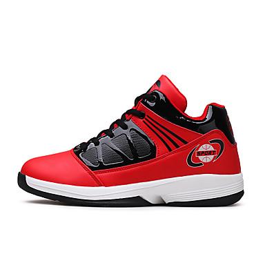 les semelles en pu (polyuréthanne) lumière automne / basket hiver confort les chaussures d'athlétisme basket / - ball rouge / noir / blanc / blanc et bleu cd541c