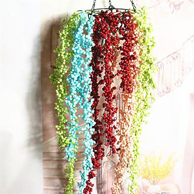 1 Ast Styropor Kunststoff andere Wand-Blumen Künstliche Blumen