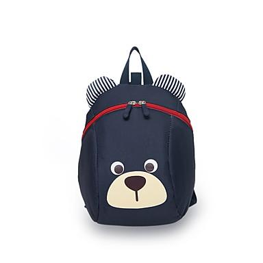 Bags Canvas Kids' Bag Zipper for Outdoor Dark Blue / Fuchsia / Sky Blue
