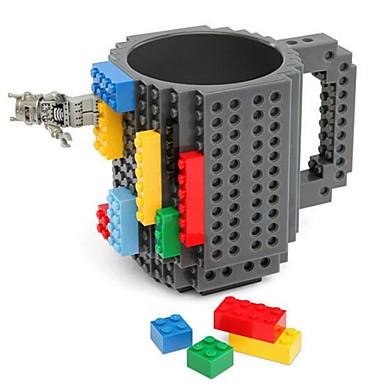 Építőkockák csésze / Ló / Kávéscsésze DIY Uniszex Ajándék