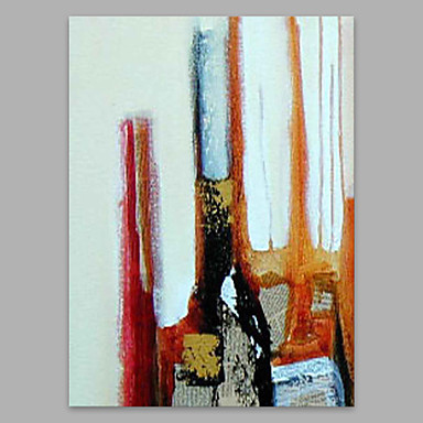 Oil Painting Hand Painted - Abstract Artistic Canvas / Stretched Canvas