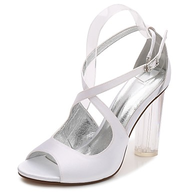 a8ce2f49e5 Lucite heel, Wedding Shoes, Search LightInTheBox