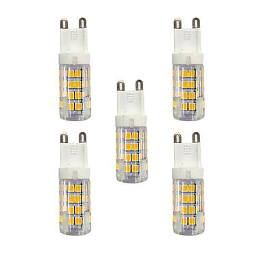 5pcs 3 W 240 lm G9 LED betűzős izzók T 51 led SMD 2835 Meleg fehér Fehér AC 220-240V