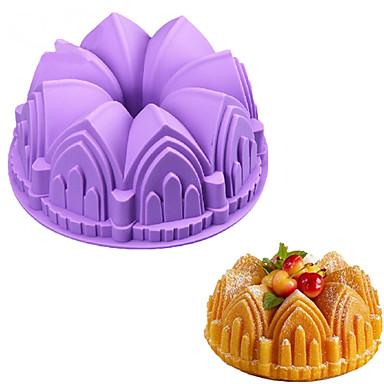 Bakeware eszközök Silica Gel Sütés eszköz Mindennapokra süteményformákba 1db
