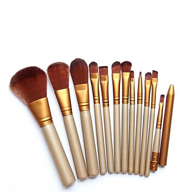 12pcs Professional Makeup Brushes Makeup Brush Set Synthetic Hair Lipstick / Eyebrow / EyeShadow