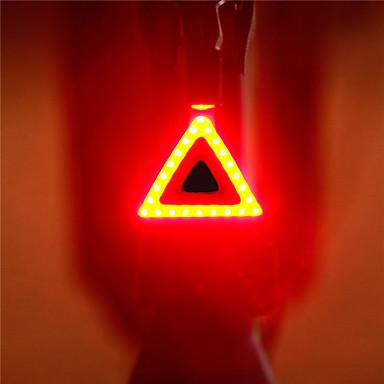 Kerékpár világítás / Világítás / Kerékpár hátsó lámpa LED LED Kerékpározás Hordozható / Állítható / Gyors kioldású Lítium akkumulátor