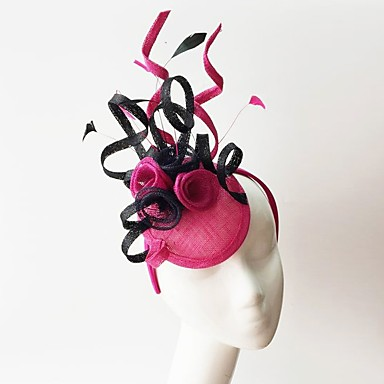 Flax / Feather Fascinators with 1 Wedding / Special Occasion Headpiece