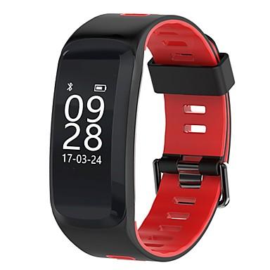 Intelligens karkötő NO.1 F4 mert iOS / Android Szívritmus monitorizálás / Elégetett kalória / GPS / Érintőképernyő / Vízálló Lépésszámláló / Hívás emlékeztető / Testmozgásfigyelő / Alvás nyomkövet