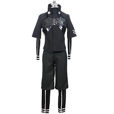 Inspired by Tokyo Ghoul Ken Kaneki Anime Cosplay Costumes Cosplay Suits Solid Color Coat / Leotard / Onesie / Pants For Men's / Women's Halloween Costumes