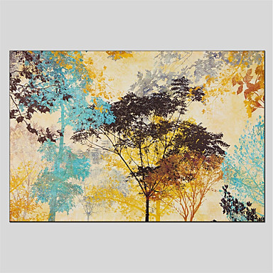 Print Stretched Canvas - Abstract Abstract