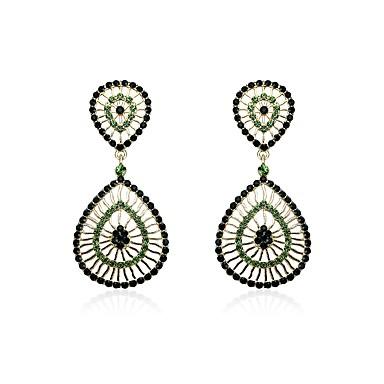Női Szintetikus gyémánt Strassz Függők - Vintage / minimalista stílusú Szivárvány Geometric Shape Fülbevaló Kompatibilitás Karácsony /