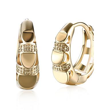 Női Kocka cirkónia Függők / Francia kapcsos fülbevalók - Cirkonium, Kocka cirkónia Személyre szabott, Divat Arany Kompatibilitás Ajándék / Napi