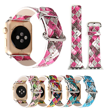 Watch Band for Apple Watch Series 3 / 2 / 1 Apple Classic Buckle PU Wrist Strap