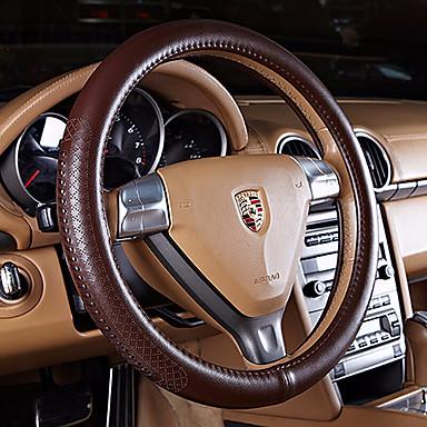 halpa Autoelektroniikka-Ohjauspyörän suojukset aitoa nahkaa 38cm Musta / Beesi / Kahvi Käyttötarkoitus Ford Kaikki mallit Kaikki vuodet
