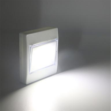 1 db LED éjszakai fény Fehér AkkumulátorBattery Dekoratív