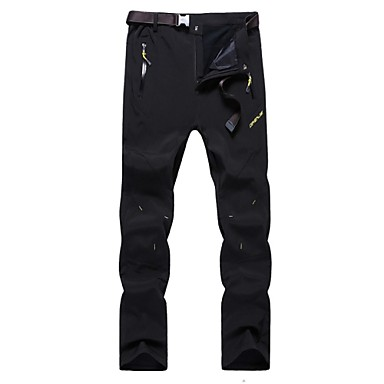 Men's Hiking Pants Outdoor Windproof, Anatomic Design, Wearable Autumn / Fall / Winter Pants / Trousers Hunting / Ski / Snowboard / Hiking