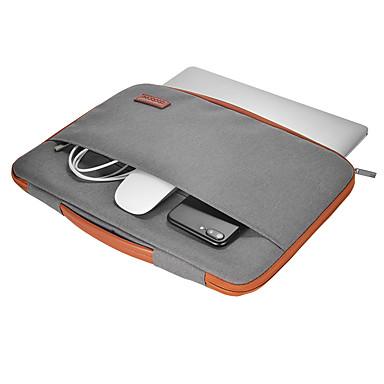 dodocool 13-13,3 hüvelykes laptop nylon cipzáras hüvely ultrabook hordtáska notebook védőtáska fedéllel pu bőr fogantyúval alma 13 macbook