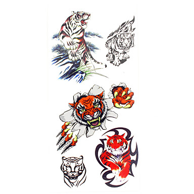 Pattern / Lower Back / Waterproof Hand / Arm / Wrist Temporary Tattoos 1 pcs Animal Series Body Arts