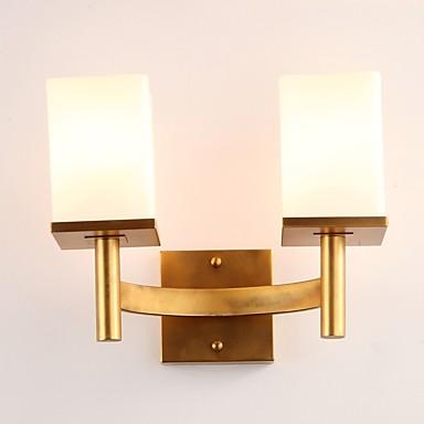 Egyszerű LED Ország Fali lámpák Kompatibilitás Fém falikar 110-120 V 220-240 V 5W