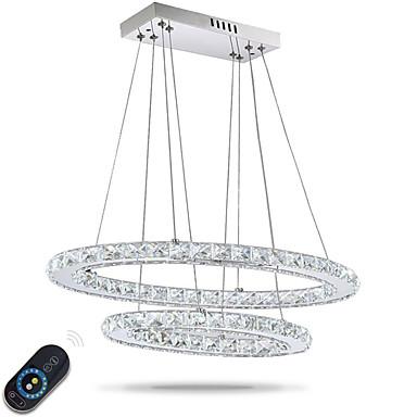 Függőlámpák Háttérfény - Kristály, Állítható, Tompítható, 110-120 V / 220-240 V, Távirányítóval szabályozható, LED fényforrás / 10-15 ㎡ / Beépített LED