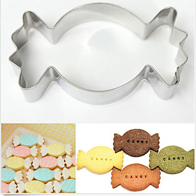 Bakeware tools Stainless Steel + A Grade ABS / Stainless Kids / Nonstick / Baking Tool For Cake / For Cookie / Fruit Cake Molds 1pc