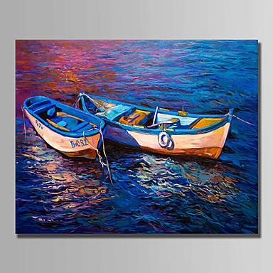 Hang festett olajfestmény Kézzel festett - Csendélet Modern Vászon