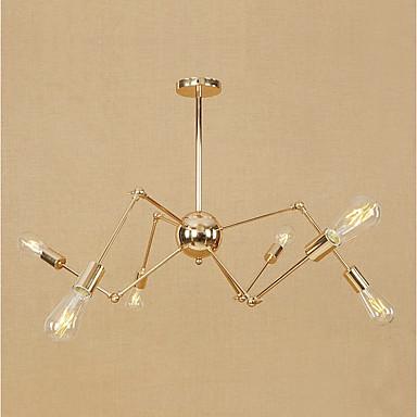 6-Light Sputnik Pendant Light Ambient Light - Mini Style, Adjustable, Designers, 110-120V / 220-240V Bulb Not Included / 15-20㎡