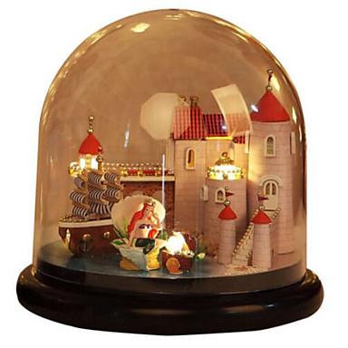 Balls Music Box Jigsaw Puzzle Model Building Kit Dome House Cartoon Classic DIY Kid's Adults Kids Gift Unisex