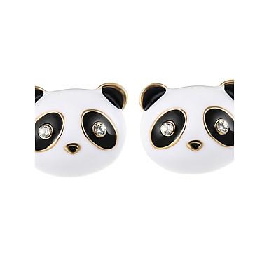 Női Imádni való Panda Beszúrós fülbevalók - Természet Fekete Fülbevaló Kompatibilitás Hétköznapi / Színpad