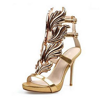 Argent Or Décontracté à Chaussures Daim Noir Femme Chaussures Confort Talons 06202690 Eté Pour azfFFPqwx