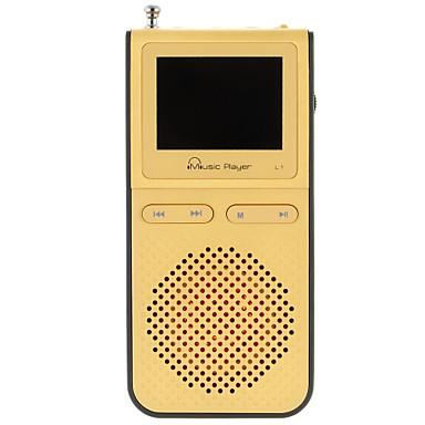 UnisCom MP3 MP3 WMA WAV Batería li-ion recargable