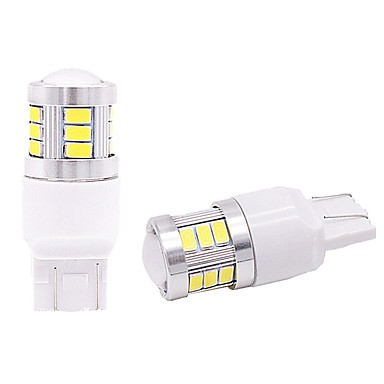 2pcs T20 / 1157 / 1156 Car Light Bulbs 9W SMD 3528 900lm 18 Tail Light For universal All Models All years