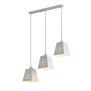 3-Light Függőlámpák Süllyesztett lámpa - Állítható, A tervezők, 110-120 V / 220-240 V Az izzó nem tartozék / 5-10 ㎡ / E26 / E27