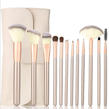 12pcs Professional Makeup Brushes Makeup Brush Set Synthetic Hair Lipstick / Eyebrow / Eyeliner